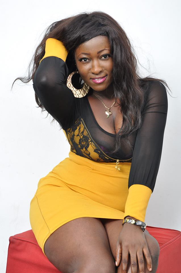 Phil Ayisi , a beautiful and promising Ghanaian actress who was nearly ...