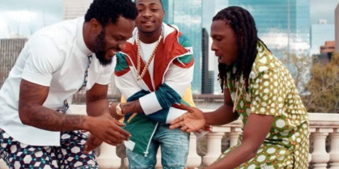 R2bees-Davido-Gboza-music-video