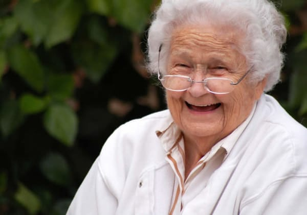 smiling-old-lady-