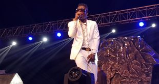 shatta wale at after the storm album launch