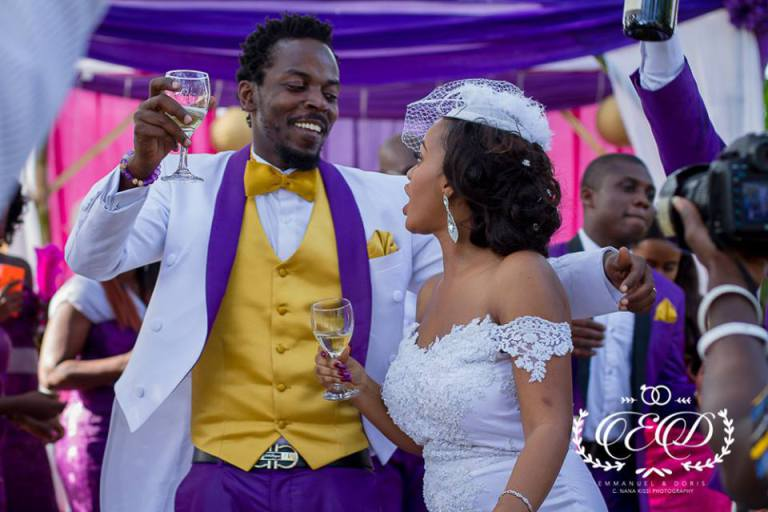 photos from Kwaw Kese's wedding