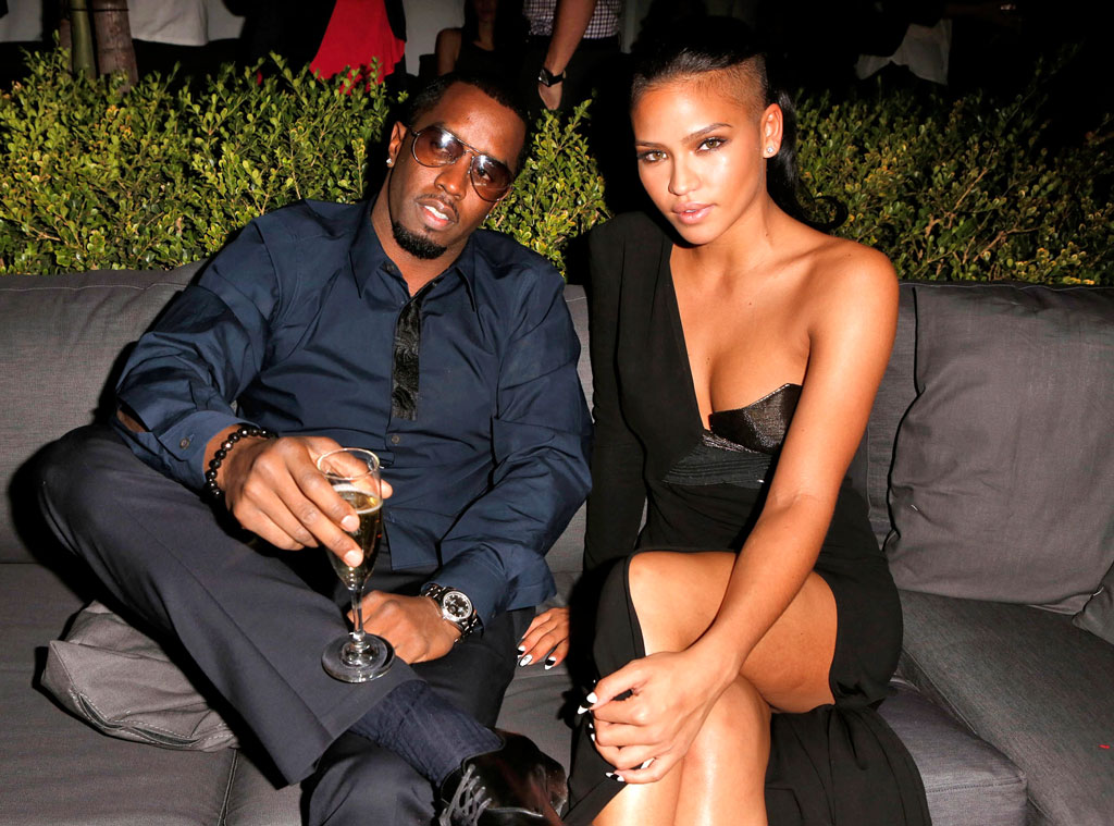 Diddy shows Cassie Ventura diamond engagement ring on