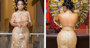 moesha budong dress to ghana movie awards