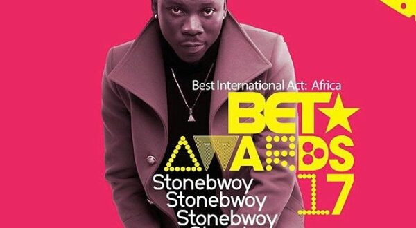 Stonebwoy Reacts to Wizkid Winning 2017 BET Best Int. African Act