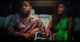 davido fall music video