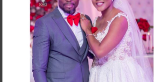 Kwame A Plus and Wife wedding pictures