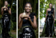 Pearl Nyarko, Winner Of Miss Malaika 2017 Stuns In New Editorial In Elegant Sequined Dress (More Photos)