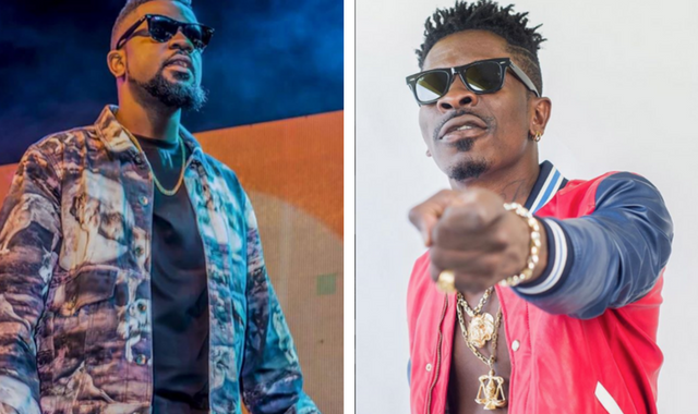 Image result for sarkodie and shatta wale