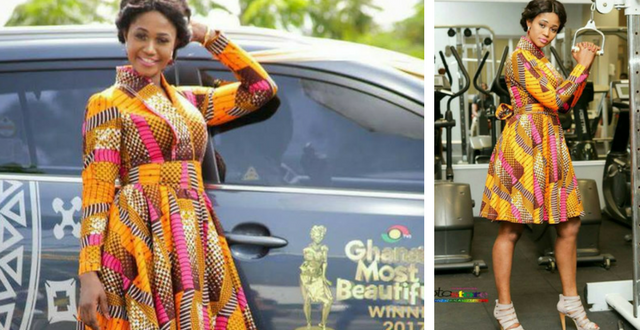 Zeinab From The Nothern Region Is Winner Of 2017 Ghana's Most Beautiful