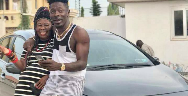 Shatta Shows His Mom Some Real Love, Buys Her A New Car To Show His Appreciation
