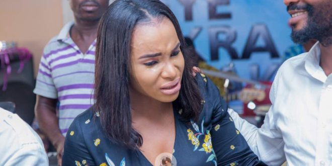 Benedicta Gafah Reacts To Rumours That She's Pregnant For Nana Ama Mcbrown's Husband (Watch)