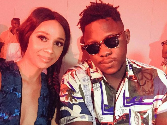 medikal and his girlfriend