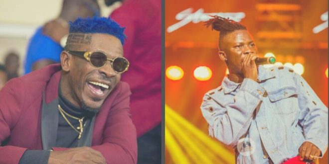 Image result for shatta wale and stonebwoy beef