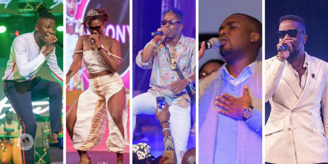 artistes of the year 2018 nominees