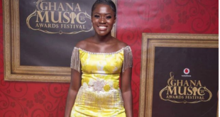 Fella Makafui's look to the VGMAs