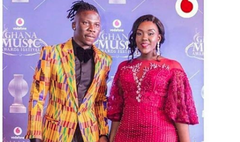 The First Time I Saw Louisa, I Knew She Was The Woman For Me–Stonebwoy Talks About How He Met Louisa (Video)