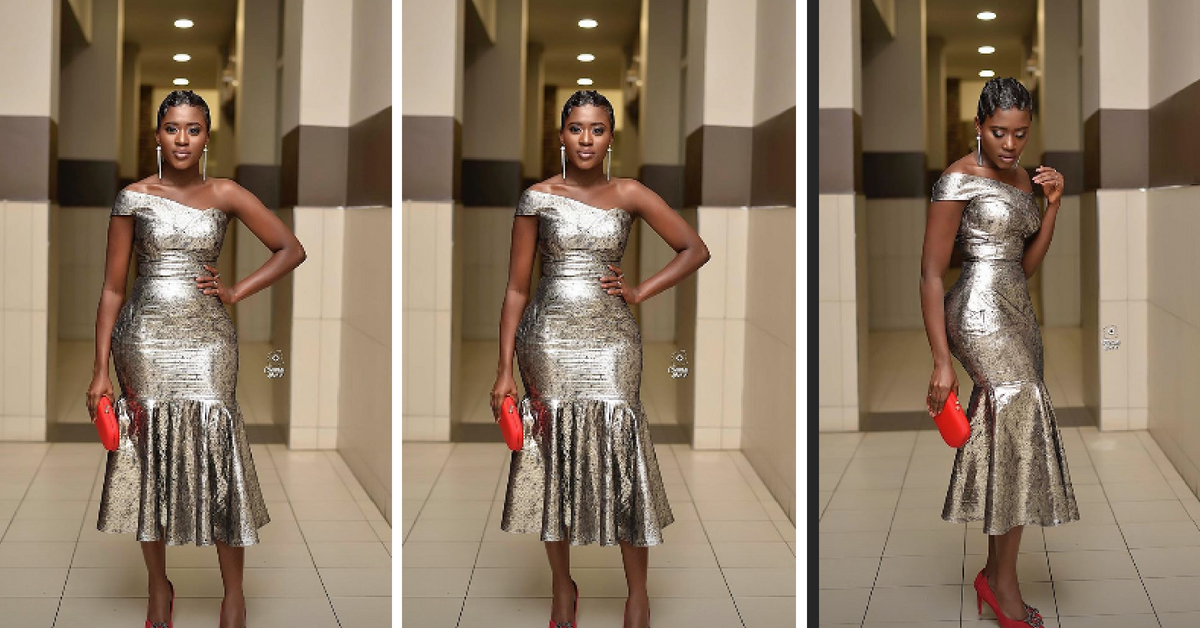 Fella Makafui Honored By Law Students For Her