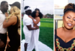Afia Schwarznegger's Ex-Husband Abrokwah Finds New Love With A Woman Known As Kezia(Photos)