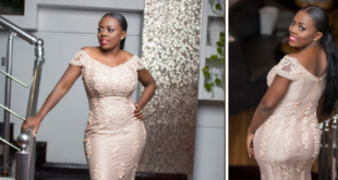 nana aba anamoah dress to golden movie awards africa