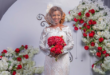 Ahoufe Patri Looking Absolutely Stunning In This Wedding Dress (Photos)