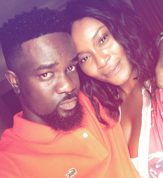 Sarkodie and Tracy Sarkcess