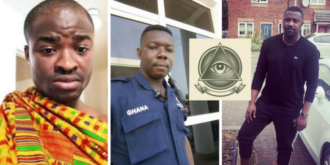 Policeman Who Beat Up Woman Is An illuminati Member Because He Took Picture With John Dumelo–Evangelist Addai 'Fools' Again