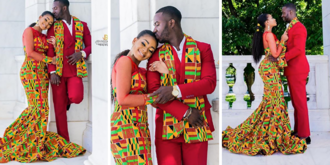 When You Find Love: Beautiful Traditional Marriage Photos Of A US Navy Sailor & His Fashion Designer Wife Stuns The Internet
