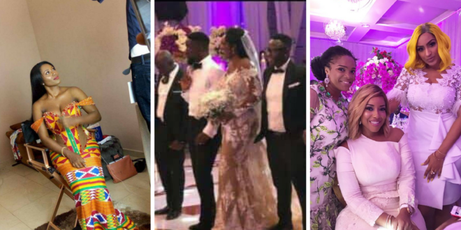 Video: Sarkodie & Tracy 'Boogie' On The Dance Floor At Their White Wedding