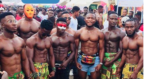 Girls Go Crazy For Men Flaunting Their 6 Packs At Chale Wote Festival (Video)