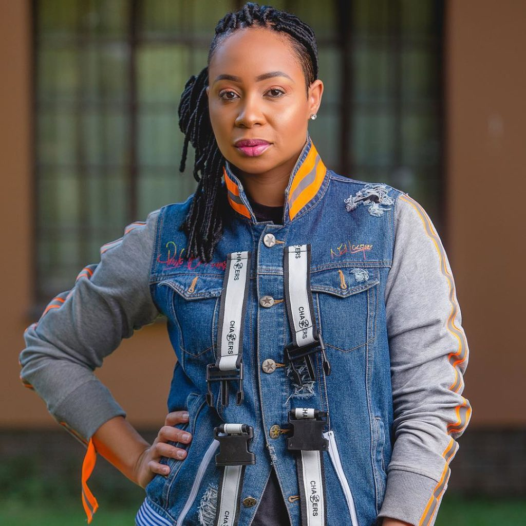 Elikem's Ex-Wife To Be, Pokello Nare Slays In This Jacket (Photos)