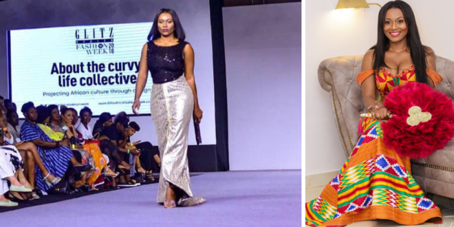Tracy Sarkcess Stun Audience As She Walks The Run Way As A Model (Pictures & Video)