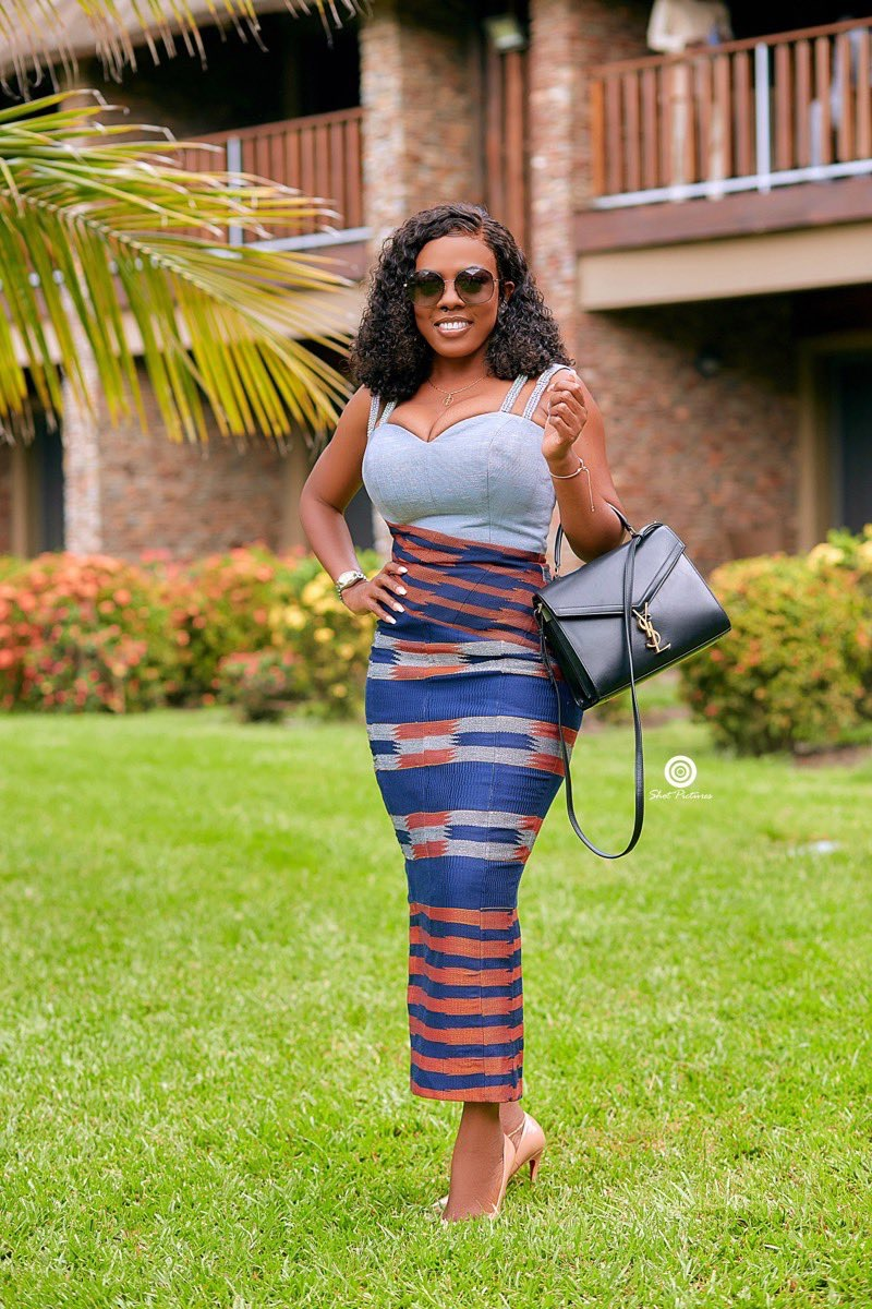 Nana Aba Anamoah releases a lovely photo of herself on