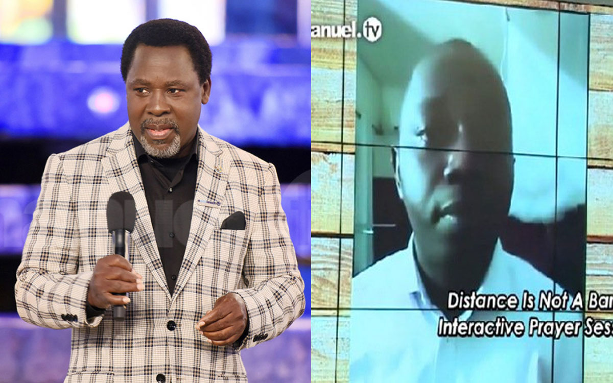 Video: Medical Doctor Admits He Was Healed Of Covid-19 After TB Joshua Prayed For Him