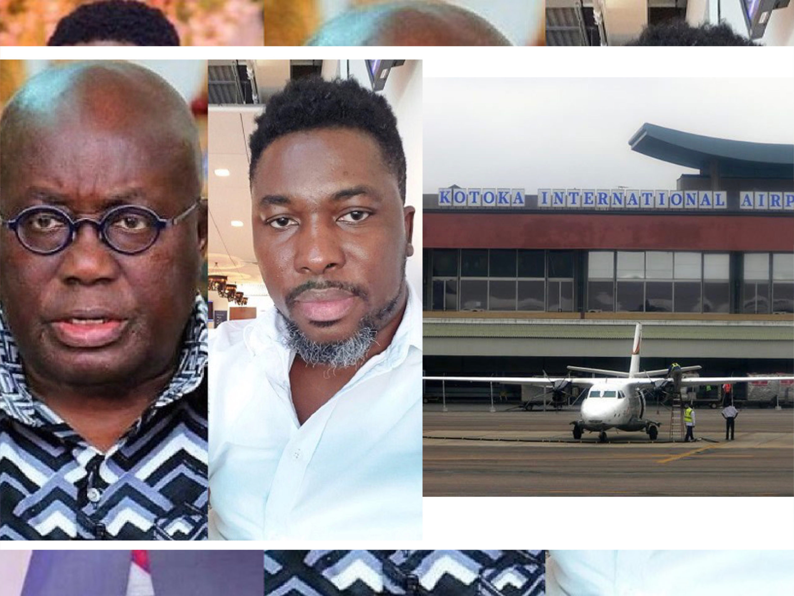 Kwame A Plus alleges government is trying to sell Kotoka Airport, the flagstaff house and shares from Consolidated bank.