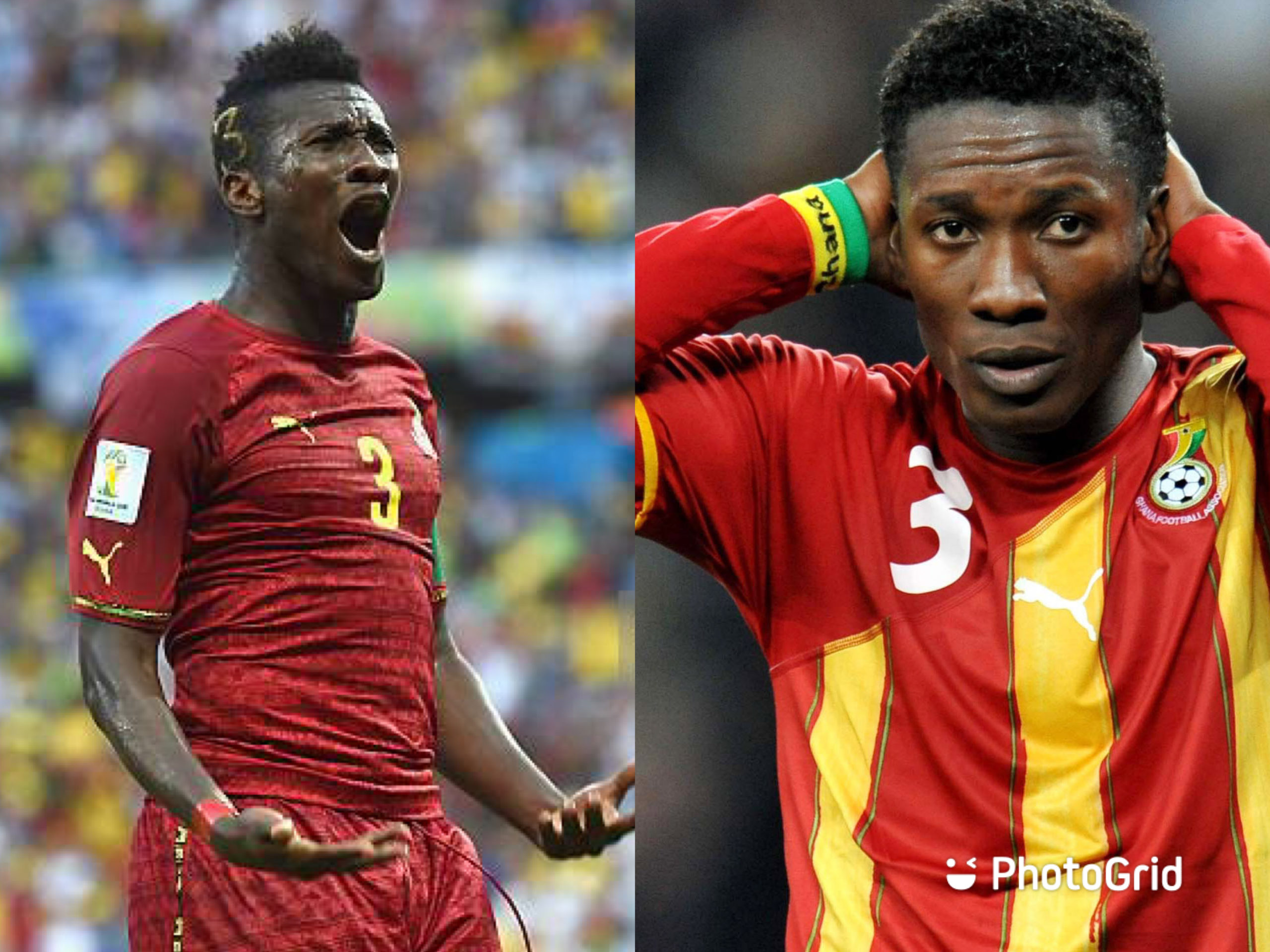 We Celebrate failure more than achievements- Asamoah Gyan