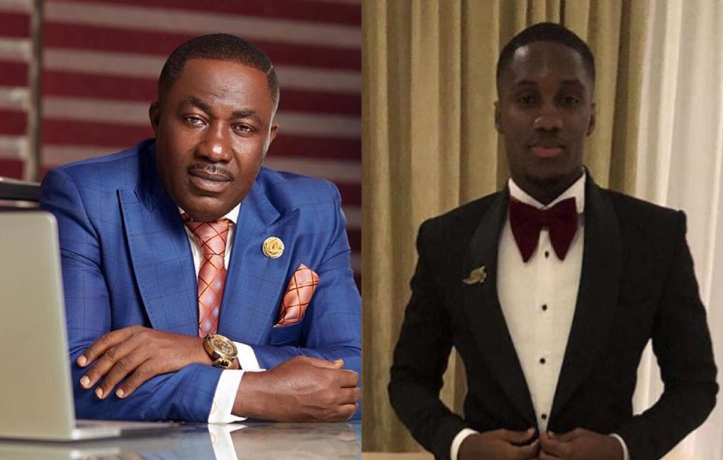 Dr. Osei Kwame Despite's Son, Ernest Ofori Osei Following His Father's Footsteps To Go Into Music Production?