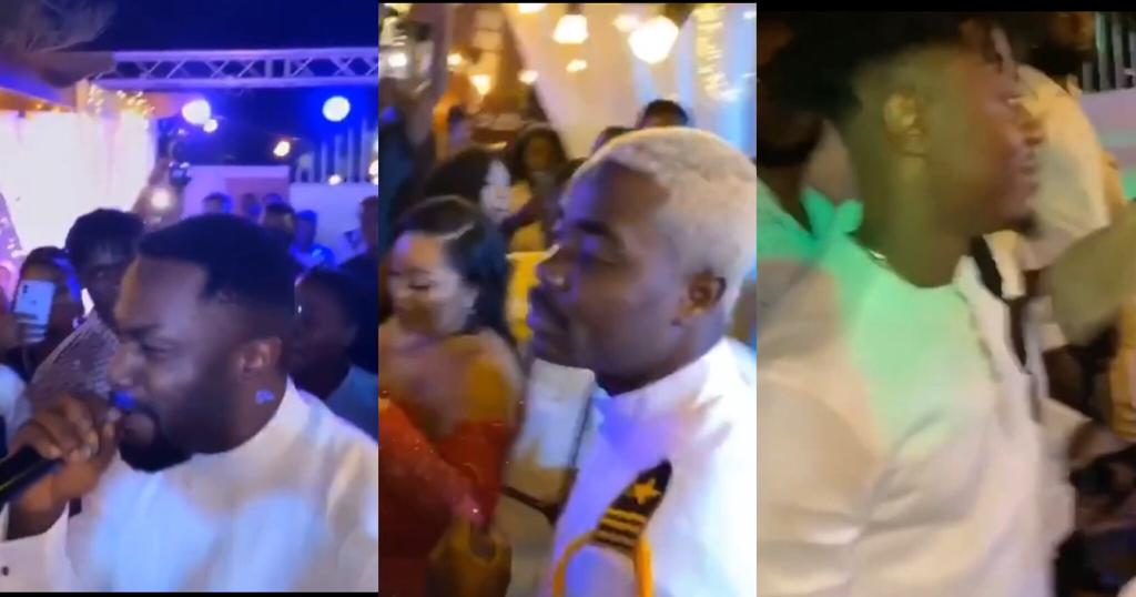 Paeday, Darko Vibes, Killbeatz And Others Storms King Promise's Manager's Wedding With Exciting Scenes – Video